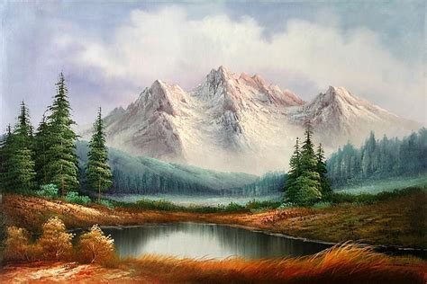 mountain landscape paintings image gallery mountain landscape paintings