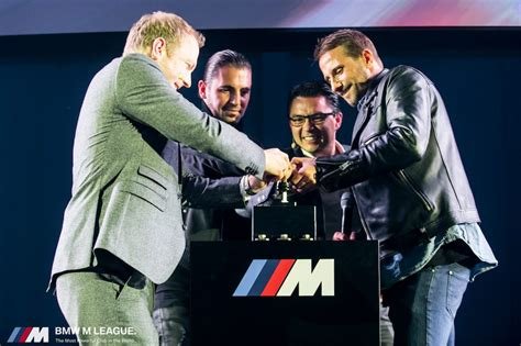 La M League the oval office et bmw pr 233 sentent la bmw m league