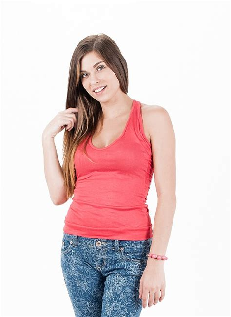 cute coral tank top trendy cheap tanks cheap cute tanks topsjeans