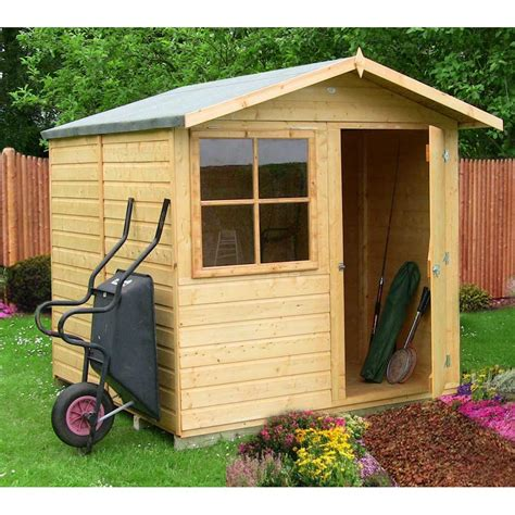 7 By 7 Shed by Abri 7x7 Garden Shed