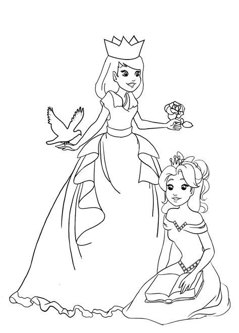 princess coloring pages easy 99 simple princess coloring pages disney princess