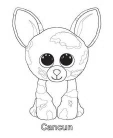 beanie boo coloring pages cancun coloring sheets beanie boos beanie