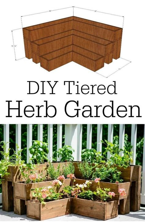 diy herb garden box 32 best diy pallet and wood planter box ideas and designs