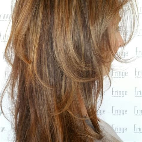 accent highlights brunette with warm blonde accent highlights impressive for