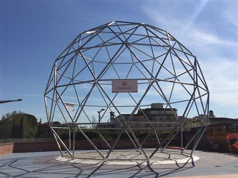 cupola geodetica prato al serraglio 232 arrivata la cupola geodetica