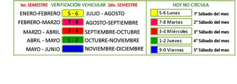 calendario de verificacion del rstado de mexico 20016 301 moved permanently