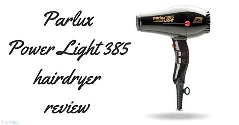 Hair Dryer Parlux Review parlux power light 385 hairdryer review the fuss