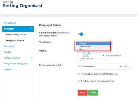 membuat reminder email panduan software akutansi online jurnal