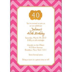 40th birthday invitation templates free 21 40th birthday invitation templates free sle