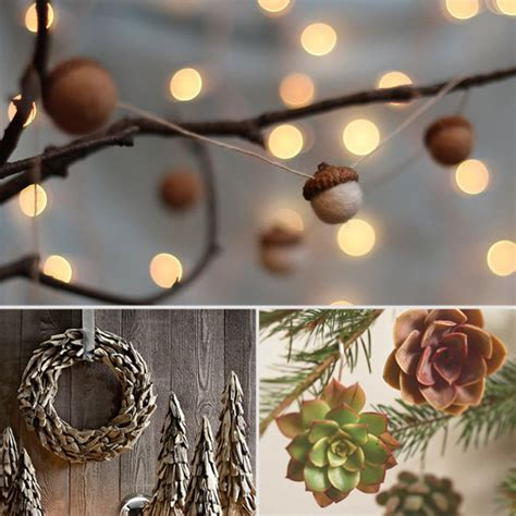 rustic christmas decorations popsugar home