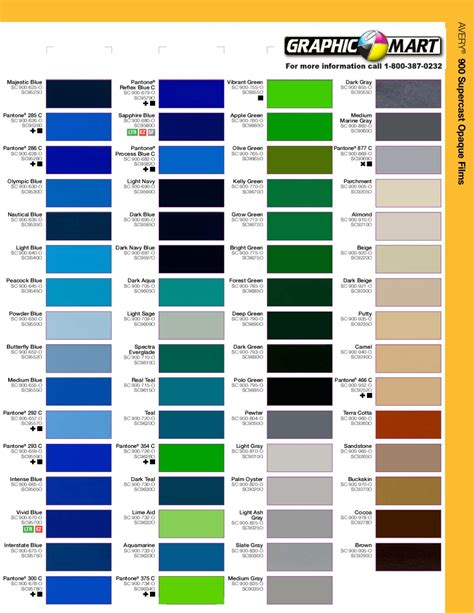 what is the color of 2017 gerber scotchcal 220 color chart gerber scotchcal 220