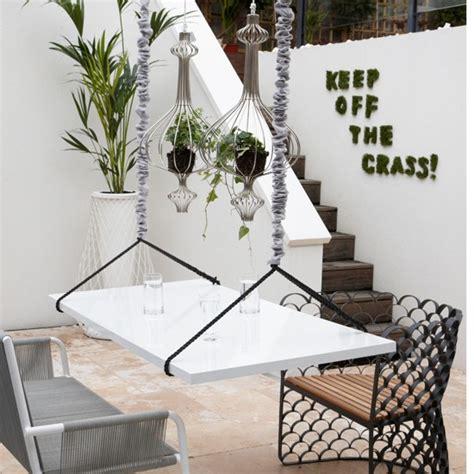 Hanging Dining Table White Patio Garden Modern Garden Decorating Ideas Housetohome Co Uk