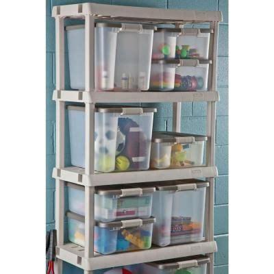 50 qt shelf tote 6 pack