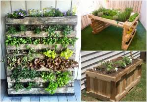 reusing pallets for garden projects 1001 pallets