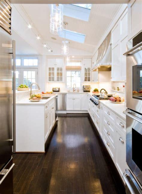 Ideas For Narrow Kitchens | interior designs for long and narrow kitchens