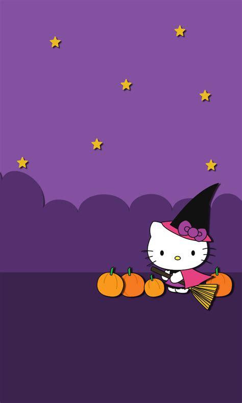 hello kitty minimalist wallpaper blueberrythemes hello kitty wallpapers halloween edition