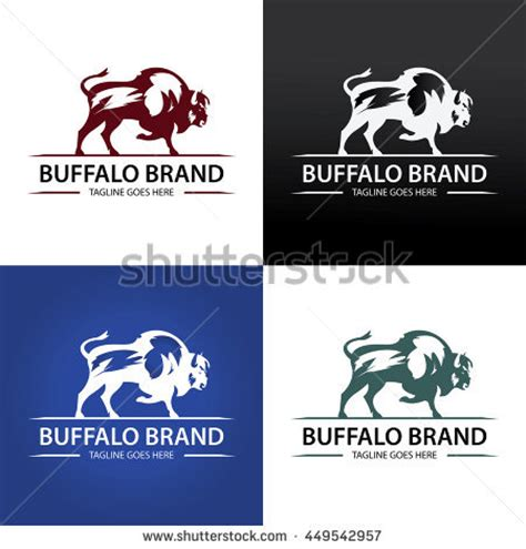 buffalo logo stock images royalty free images vectors