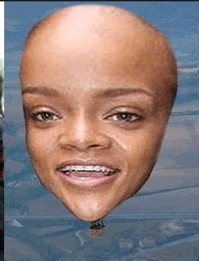 what do you big foreheads mean rihanna s forehead uncyclopedia fandom powered by wikia