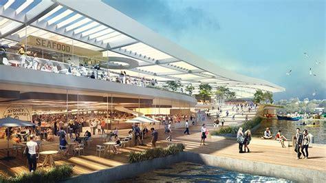 designboom market sydney s new ferry hub at barangaroo opens to commuters
