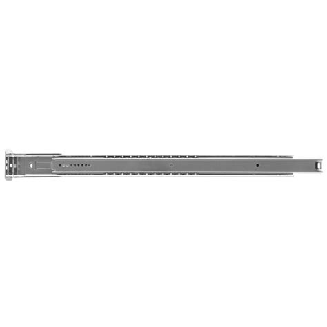 Drawer Slides Home Depot by Knape Vogt 1129 Series 18 In Zinc Drawer Slide 1129p Zc