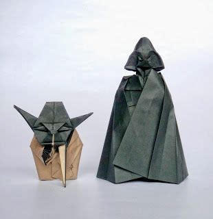 Origami Wars Characters - 25 best ideas about origami darth vader on