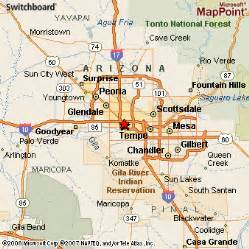 arizona area map arizona