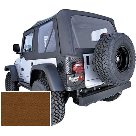 2001 Jeep Wrangler Accessories New Rugged Ridge Soft Top Jeep Wrangler Tj 2002