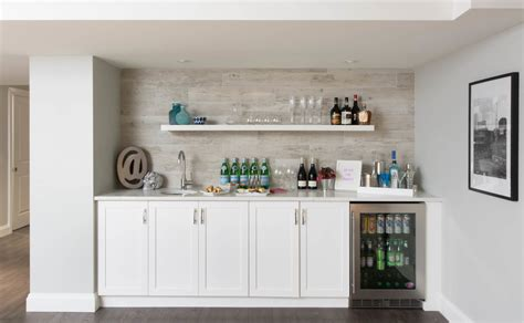 bar cabinet with sink and fridge lowes storage cabinets home bar transitional with bar