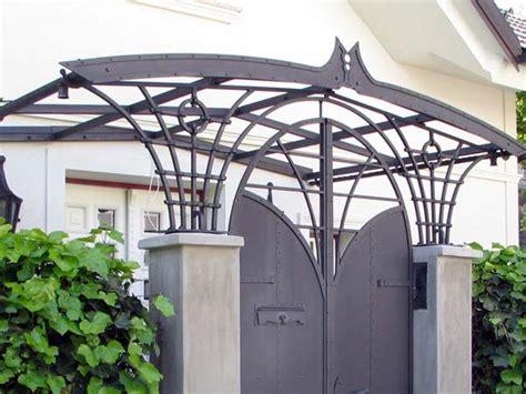 tettoia cancello tettoia per cancello pedonale medicina castel maggiore