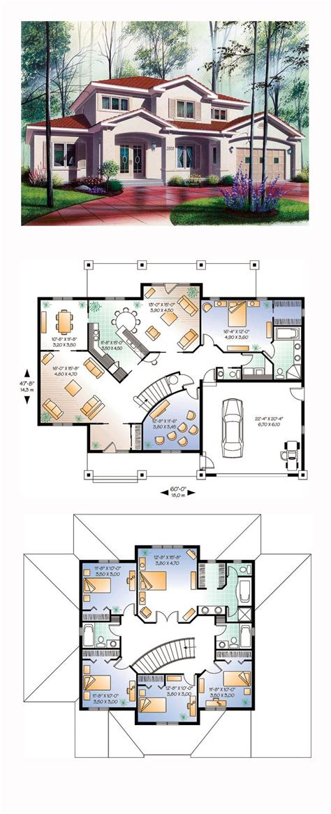 6 bedroom house floor plans 6 bedroom house plans glitzdesign modern 6 bedroom house