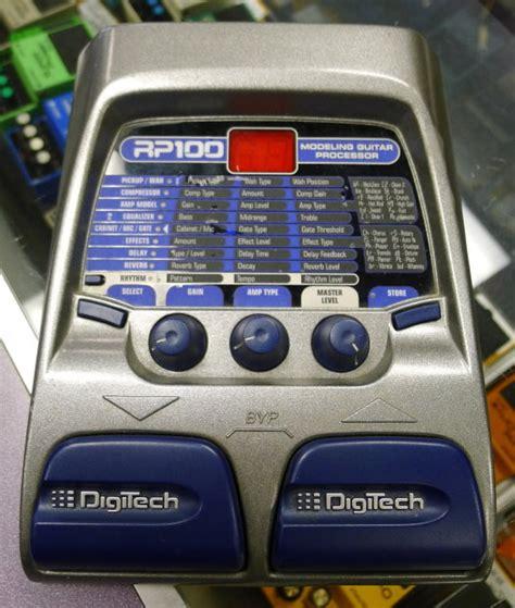 Digitect Digital digitech rp100 guitar effect pedal digital multi effects guitar u28438 reverb