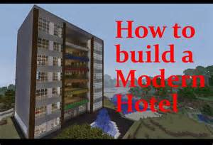 how to make a hotel room minecraft hotel tutorial