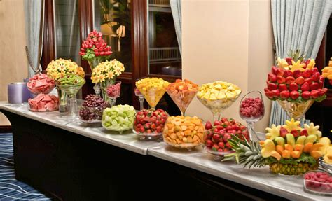fruit table for wedding reception i this i want this when we renew our vows plant