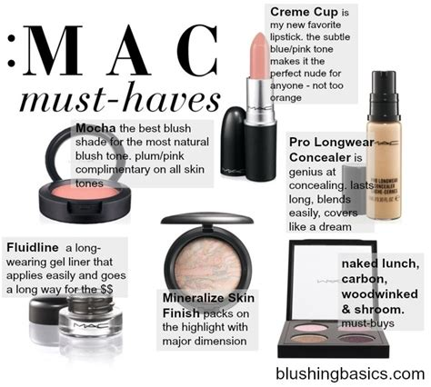 Top 7 Must Mac Products by Blushing Basics Mac Makeup Must Haves
