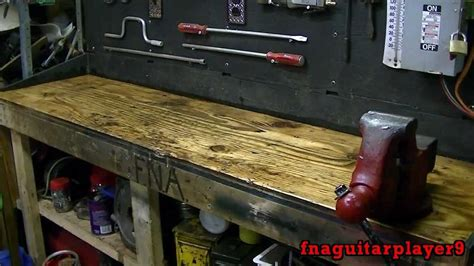 work bench top covering workbench overhaul part 2 of 3 cleaning finishing wood