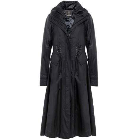 creenstone coat longer length with lace up detail 511200