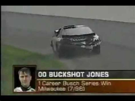 top 10 unluckiest nascar drivers #7 buckshot jones youtube