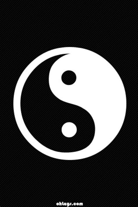 yin yang iphone 5 wallpaper yin yang iphone wallpaper 358 ohlays