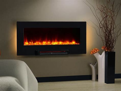 Fireplace That Hangs On Wall by 36 Quot Led Backlit Electric Heater Wall Table Fireplace