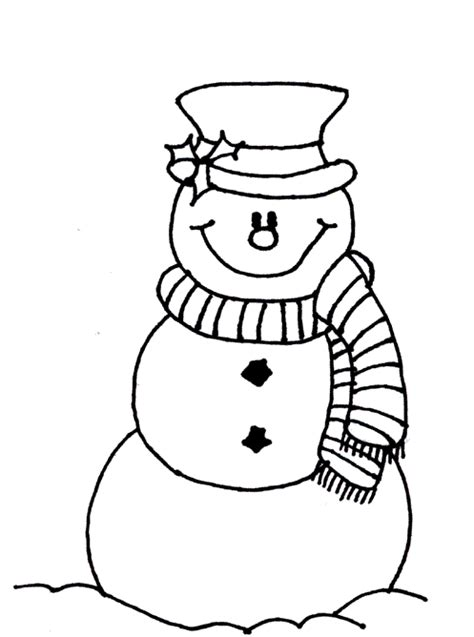 simple snowman coloring page snowman coloring page coloring book
