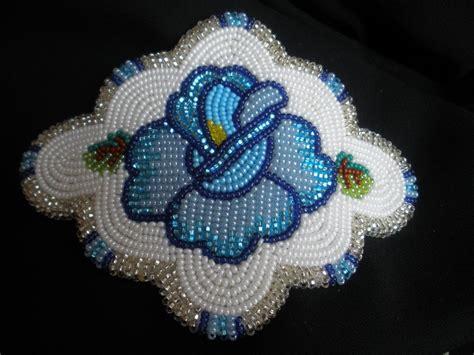 beadwork blue stunning indian shoshone beaded blue