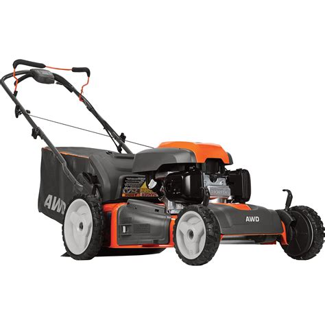 husqvarna  wheel drive  propelled lawn mower cc honda gcv series engine  deck