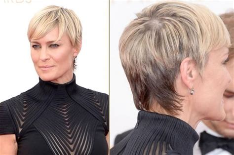 How To Cut Robin Wright Haircut | robin wright haircut how to style short hair like robin