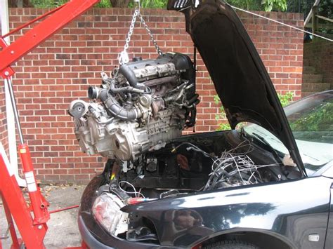 volvo 850 engine removal remove transmission while engine in car volvo forums