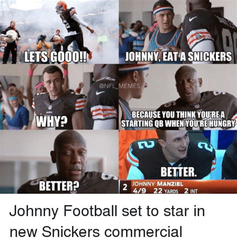 Snickers Commercial Meme - 25 best memes about snickers commercial snickers