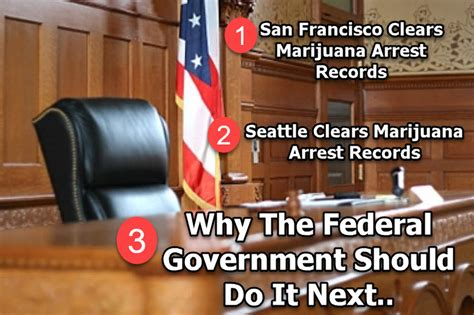 Seattle Arrest Records Why The Federal Government Should Clear All Marijuana