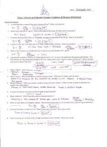 density practice problem worksheet abitlikethis
