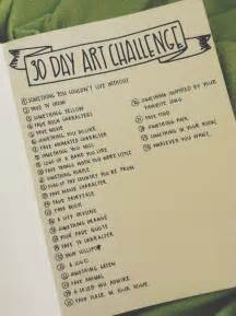 doodle a day ideas 25 best ideas about 30 day drawing challenge on