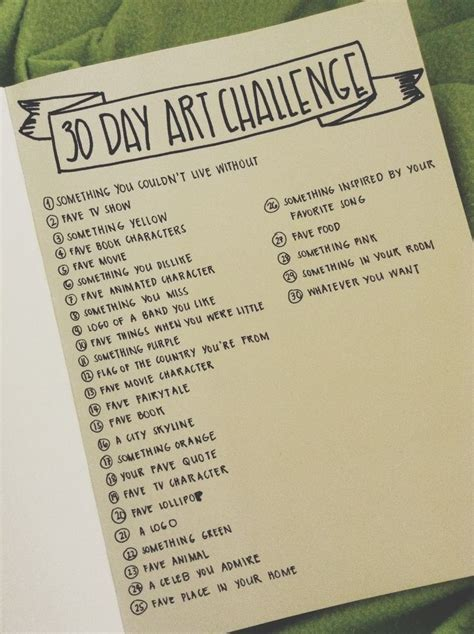 how to start a doodle page 25 best ideas about 30 day drawing challenge on