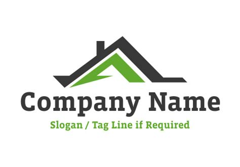 design a house logo letter a house logo